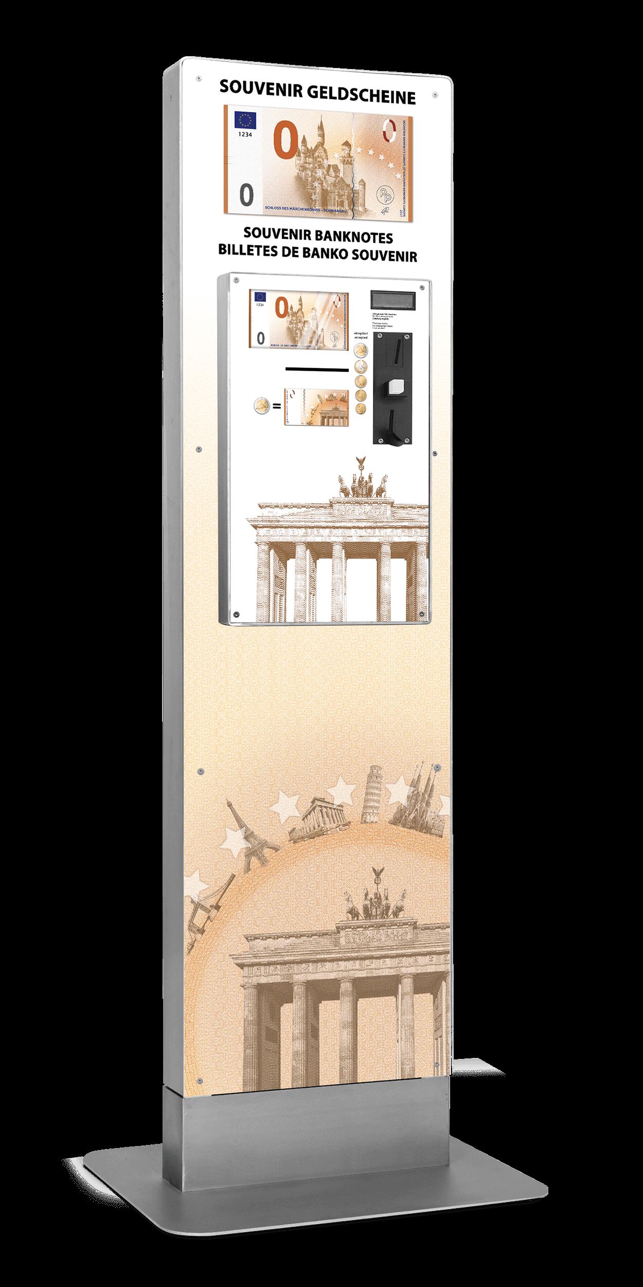 Geldschein-Automat von Penny Press Europe